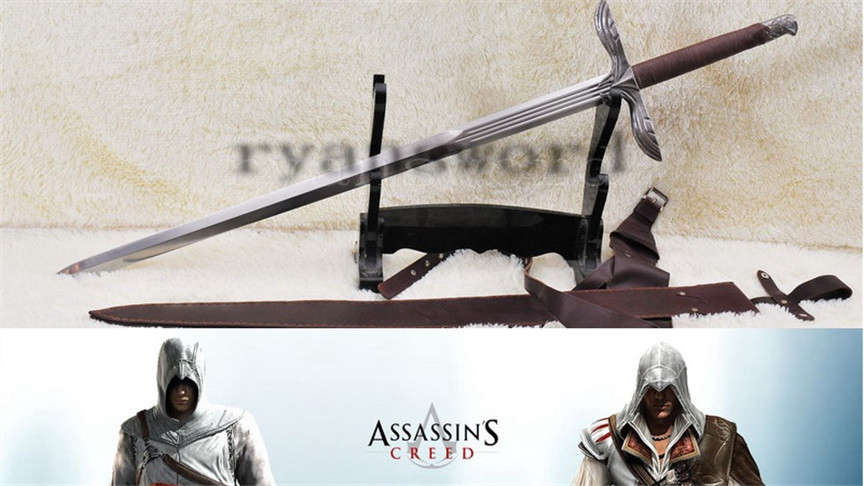 Assassins Creed Altair European Medieval Long Sword Broadsword