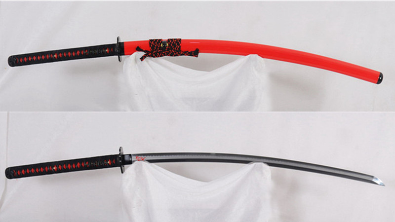 Hinoken ( Fire Sword ) Clay Tempered Katana T10 Steel Hazuya Polished--Ryan1298