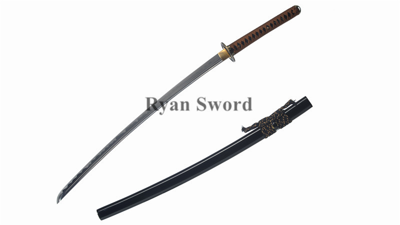 Iaito 1060 Carbon Steel Katana Unsharp Dull Full Tang--Ryan1304