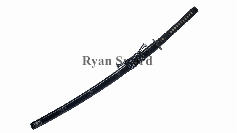 1060 Carbon Steel Iaito Katana Dull Unsharp Full Tang--Ryan1307