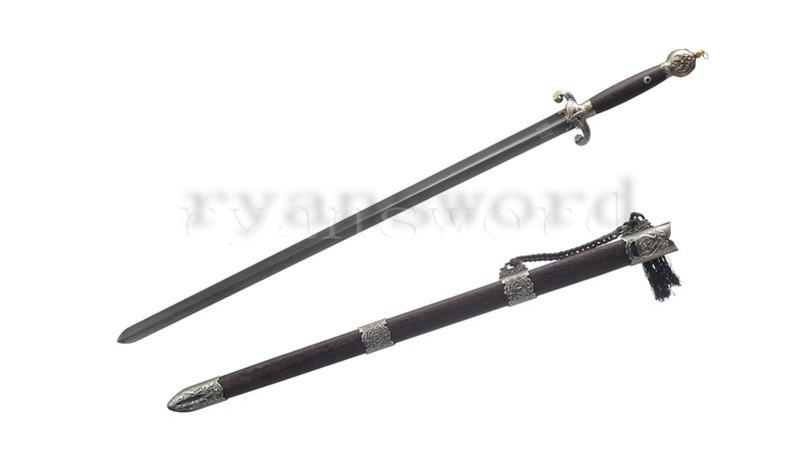 Tai Ji Jian Chinese Sword Wushu Martial Art Equiment Alloy Fittings--rsj223