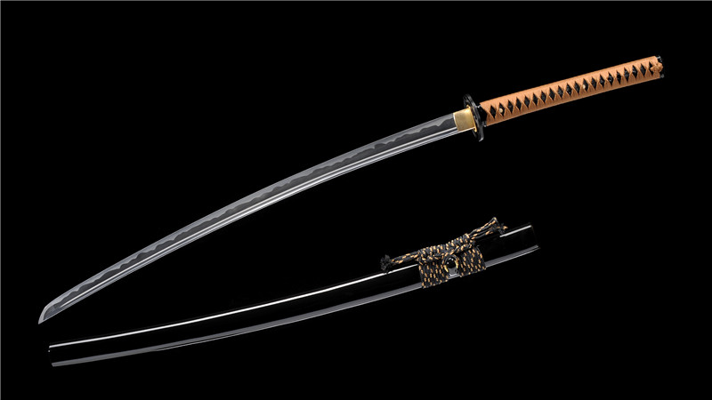 Iaito Practice Sword 1060 Carbon Steel Katana Unsharp Dull Full Tang--Ryan1317