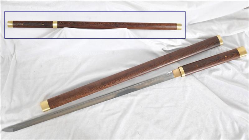 Shirasaya Folded Steel Straight Blade Full Tang--Ryan1325