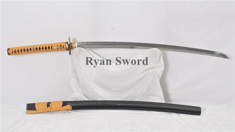 Honsanmai Clay Tempered Katana without Yokoto--ryan312
