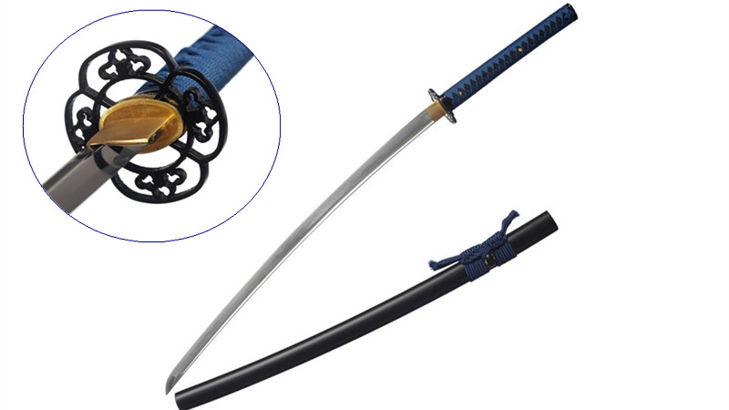 Iaito Training Sword 1060 Carbon Steel Full Tang Dull--Ryan1328