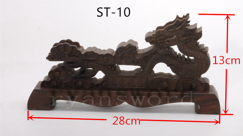 Wood Dragon Display Stand for Chinesse Sword