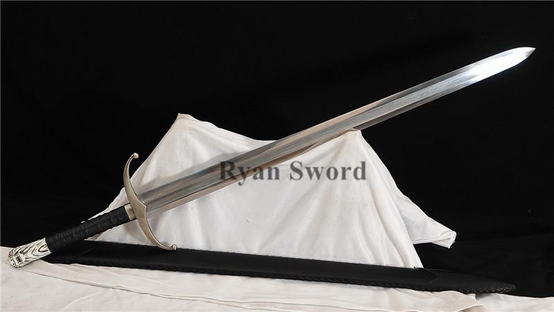 Jon Snow Longclaw Sword Game of Thrones 1095 Folded Steel--Ryan1358
