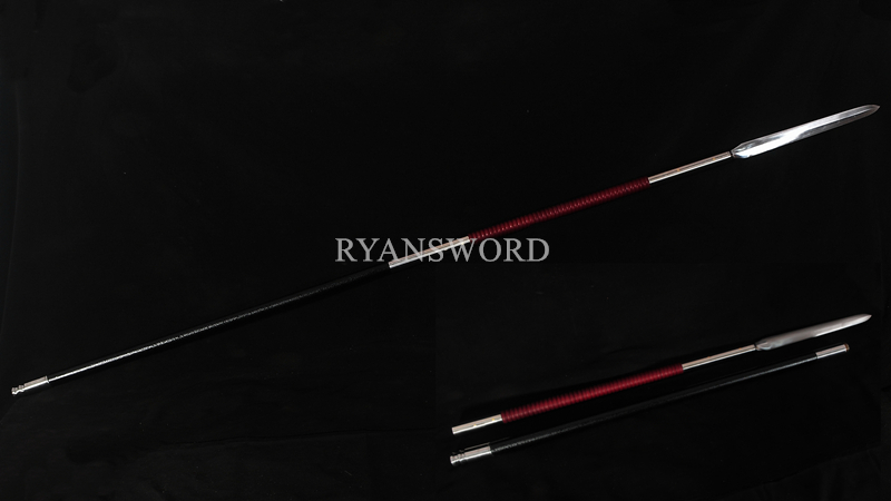 Two-Piece Spear 1095 High Carbon Steel Blade--Ryan1383