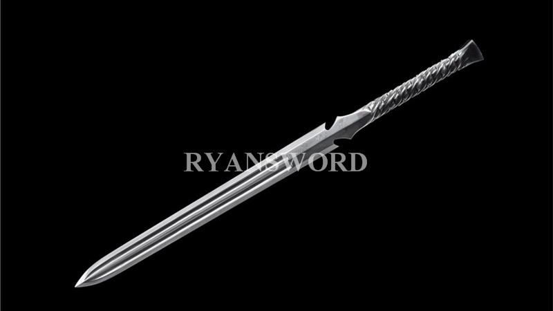 Handmade Spear Sword Folded Steel--Ryan1391