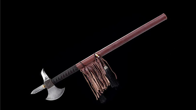 Handmade Battle-Axe Folded Steel--Ryan1401
