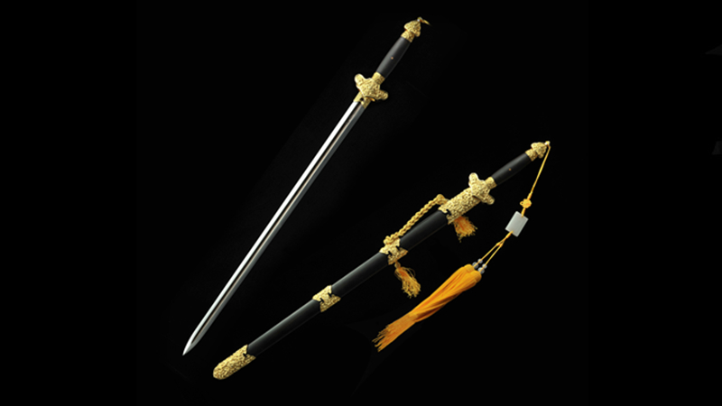 Hanguang Sword Gold-Plated Brass Fittings--sgl3009