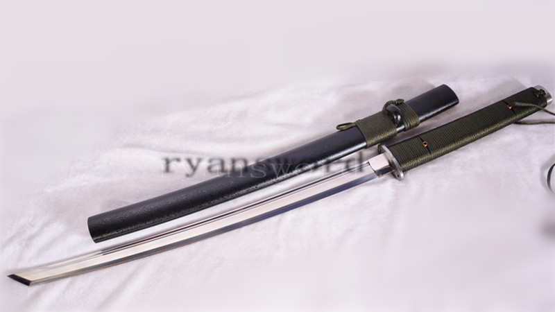 Outdoor Survival Katana Japanese Tactical Sword 1095 Steel Full Tang--Ryan1155