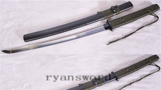 Tactical Sword Outdoor Survival 1095 High Carbon Steel Full Tang Sharp--Ryan1156