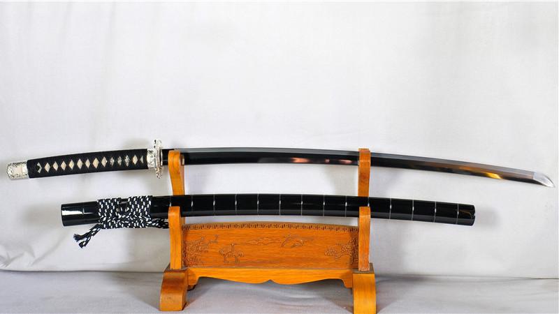 Tamahagane Katana Japanese Sword Clay Tempered+Hazuya+Jizuya+Finish Polishing--Ryan1180