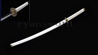 Wado Ichimonji Roronoa Zoro Katana One Piece Sword 1095 High Carbon Steel Sharp--Ryan1196