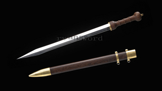 Roman Sword European Sword 1095 High Carbon Steel Functional Sharp--Ryan1223