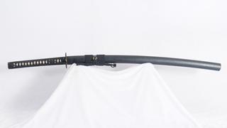 Katana Japanese Samurai Sword 1095 High Carbon Steel Blade Iron Tsuba Full Tang Heavy Cutting--Ryan1267