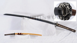 Katana Japanese Samurai Sword 1095 High Carbon Steel Razor Sharp for Light Cutting--Ryan1270