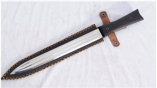 Flying Fish Outdoor Sword 1095 High Carbon Steel Full Tang Strong Blade Sharp--Ryan1271