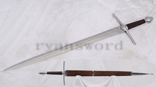Braveheart Wallace Sword European Sword 1095 High Carbon Steel 39