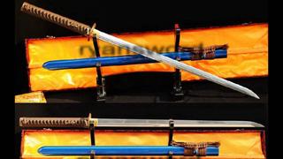 Ninjato Straight Blade Japanese Sword 1095 Carbon Steel Functional Full Tang--Ryan328