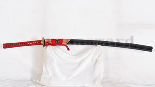 Hazuya Polished Katana Clay Tempered Shihozume Structure Japanese Sword--Ryan767