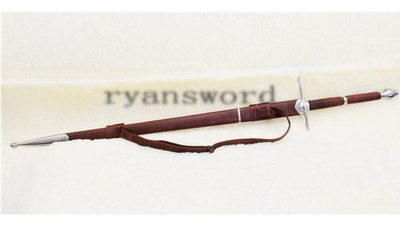 Braveheart Wallace Sword European Claymore Medieval Long Sword Heavy Cutting--Ryan845
