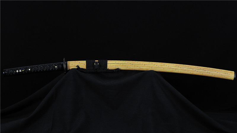 Tamahagane Katana Japanese Sword Clay Tempered High End Handmade--Ryan858