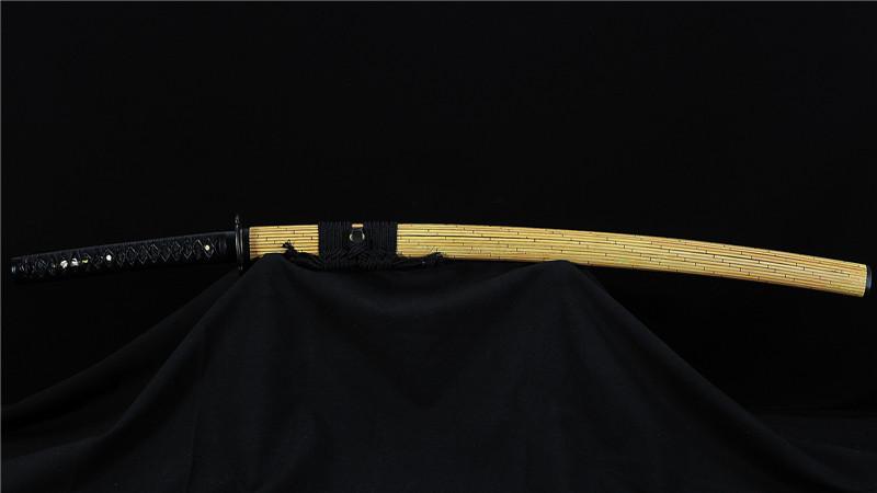 Tamahagane Katana Japanese Sword Clay Tempered High End Handmade--Ryan858