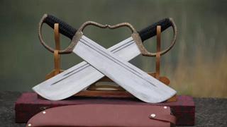 Butterfly Swords Wing Chun Swords Bart Cham Dao --rsd402