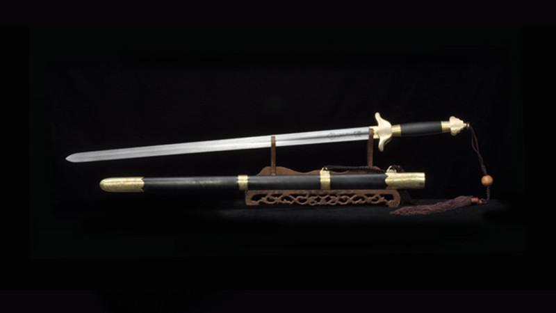 Qian Long Tai Ji Jian Chinese Sword Wushu Martial Art Equipment Brass Fittings--sgl8016