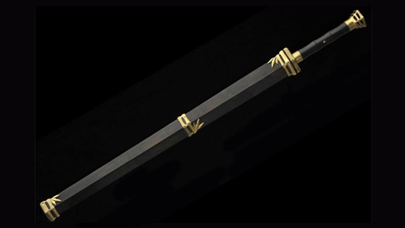 Jun Zi Jian (Gentleman Sword) Artwork of Master Shen Xinpei Handmade Chinese Sword--sgl1006