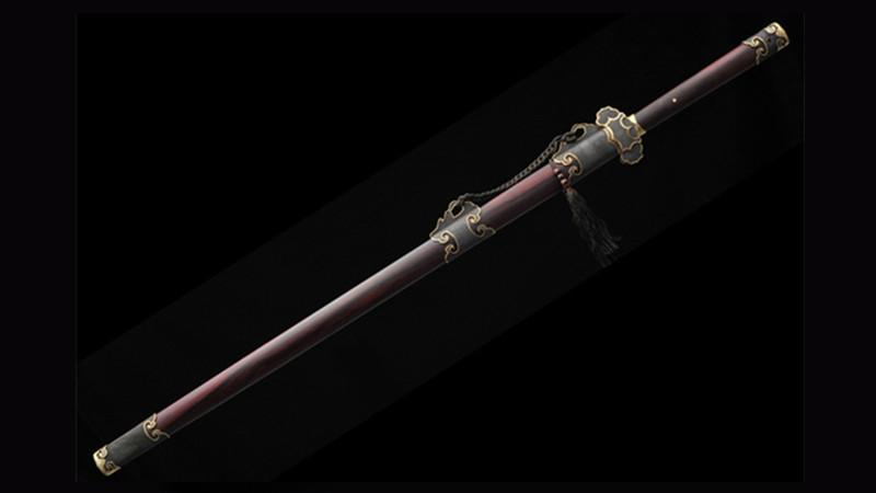Plain Tang Jian Artwork of Master Shen Xinpei Handmade Chinese Sword--sgl1007