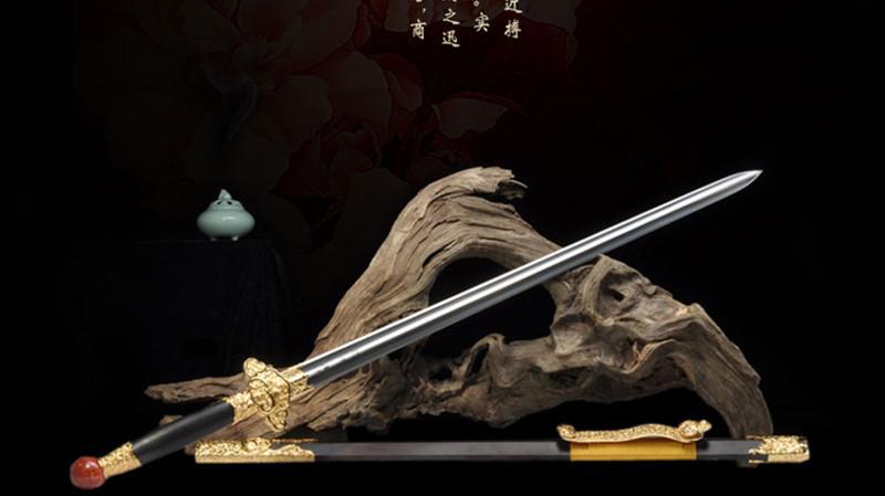 Qian Kun Jian (Universal Sword) Artwork of Master Shen Xinpei Handmade Chinese Sword--sgl1010