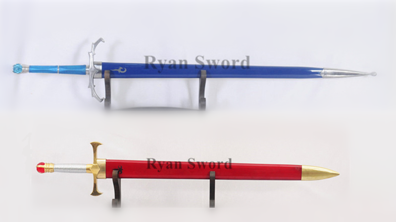 Eragon Sword Set Brisingr & Zar'roc 1095 High Carbon Steel--Ryan1327