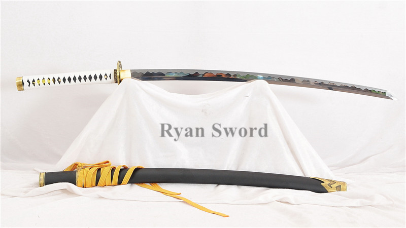 Yamato in Devil May Cry-Katana Japanese Sword 1095 High Carbon Steel Functional--Ryan901